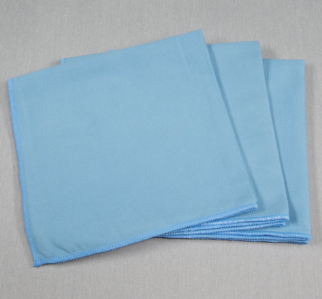 16x16 Microfiber Suede Window Cloths