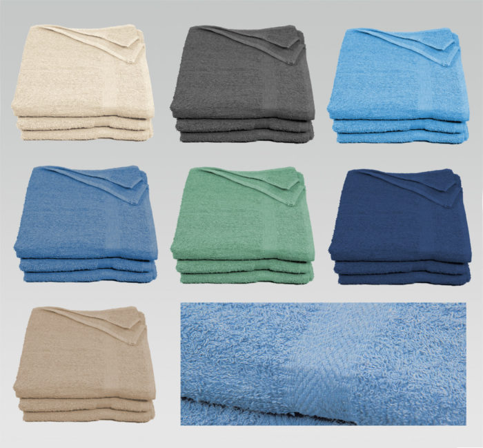 22x44 Color Towels 6.25