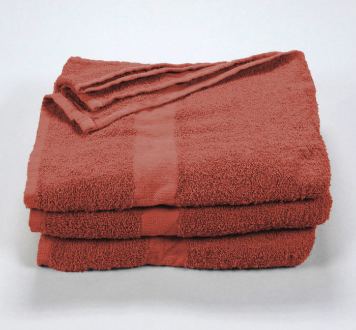 22x48 Rust Wholesale Bath Towel