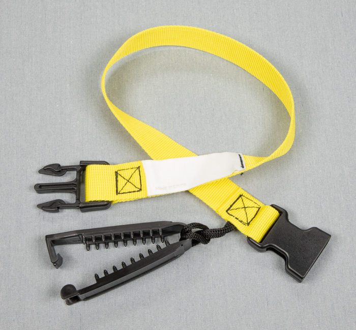 Laundry Loops Straps Yellow for sports and athletic laundry