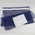 Mesh Zipper Laundry Bags Royal Blue