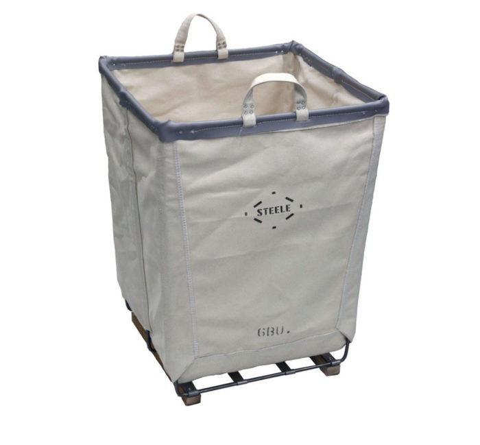 Steele Canvas 50 Tall Square Basket Front