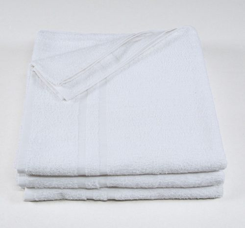 "Premium White Bath Towel - 24"" x 50"""