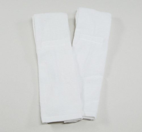 Thin White Football Quarterback Towel 4x12